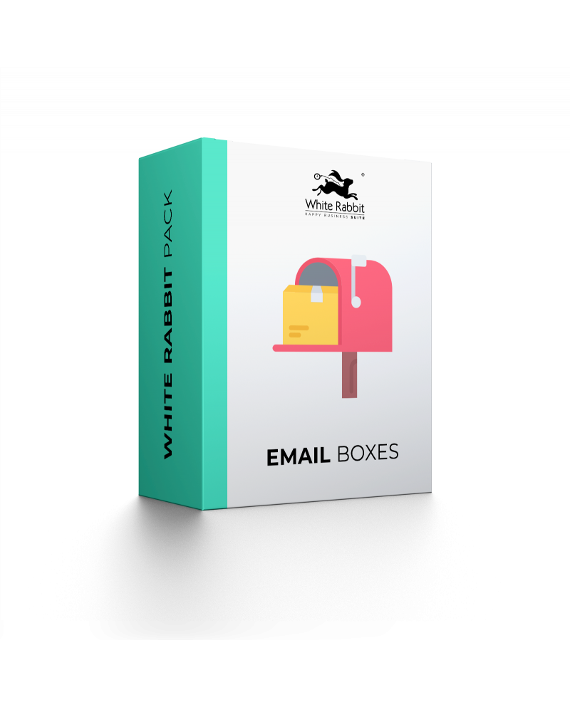 5 email boxes extra - Mensile