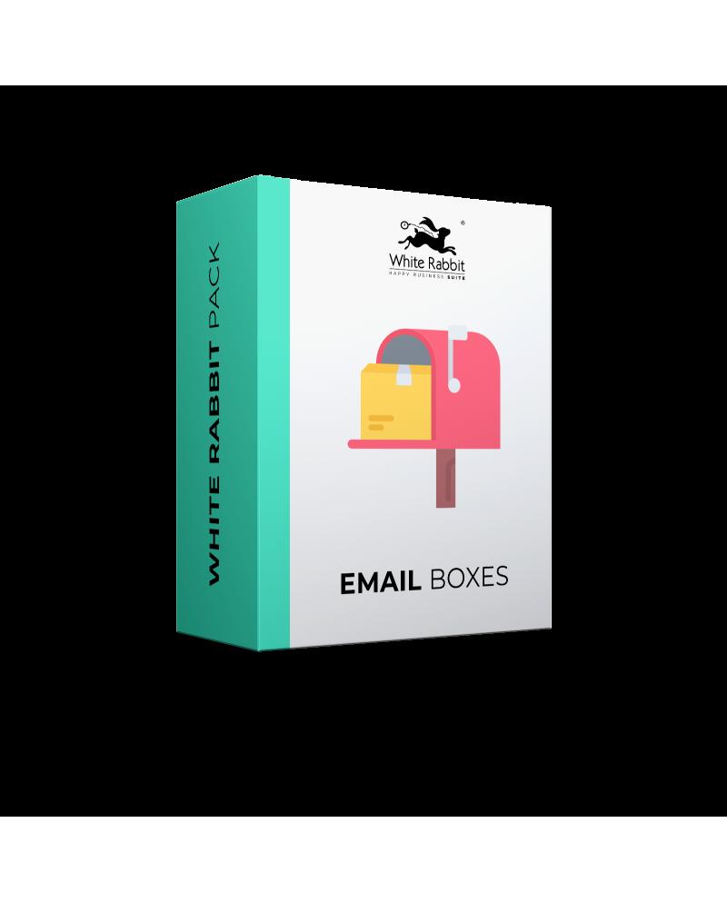 5 caselle di posta elettronica extra - Mensile