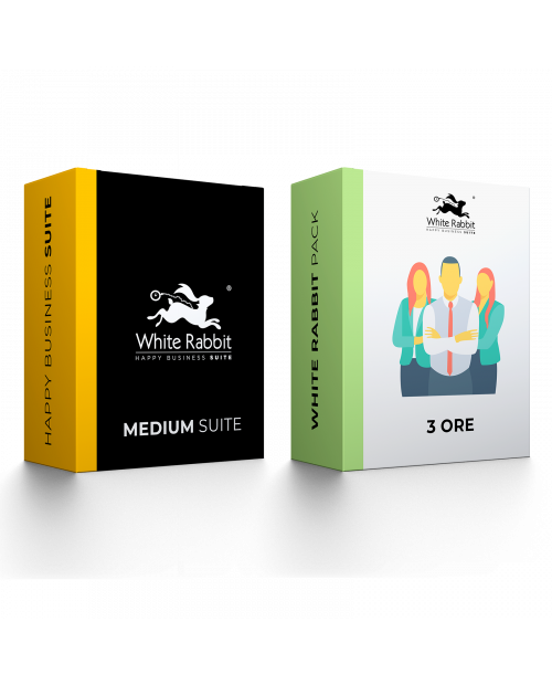 Pack: Medium Suite + 3 Ore Consulenza Digital  - Abbonamento Mensile